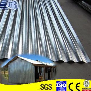 China Corrugated Wave Iron Sheet Galvanized Metal Sheet