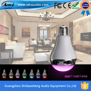 Smart Wireless APP Controlled Bluetooth Speaker With LED Flashing Light Bulb