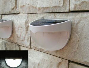 Solar LED Wall Mounted Fence Lamp Simple and Elegant pictures & photos