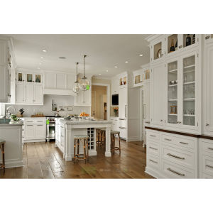 Custom Made Solid Wood Kitchen Cabinet Made in China 2016 New Style ...
