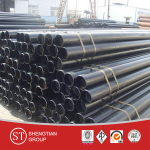China Manufacturer ASTM A106 Seamless Carbon Steel Pipe / ASTM API 5L Carbon Steel Pipe / Sch40 Sch80 Black Seamless Steel Pipe pictures & photos