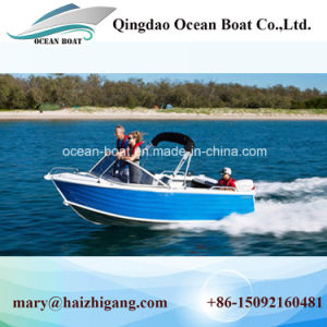 12FT 4.2m Runabout Aluminum Boats Fishing Use Pleasure Boat Ce Approved