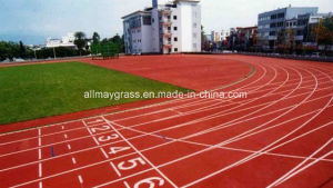 Waterproof PU Rubber Athletic Running Track