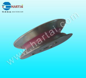 Aluminum Flange Wire Guide Ceramic Pulley