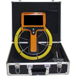 Waterproof Pipe Plumbing Inspection Camera with Hand Held Monitor 710dm-Scj Pipe Sewer Camera pictures & photos