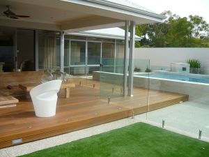 Frameless Glass Railing for Indoor/Outdoor Stairs Railing Fittings