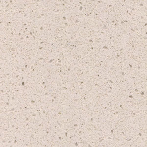 Kf-024 Light Beige Cream Fine Grain Artificial Stone Slab Quartz Surface