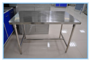 Durable Anatomy Laboraotry Stainless Steel Fish Cleaning Table