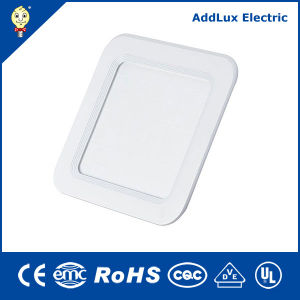 Best Distributor Saso Ce UL Square Round 18W Energy Saving LED Panel Light Made in China for Ceiling, Office, Store, Museum, Library, Classroom Lighting pictures & photos