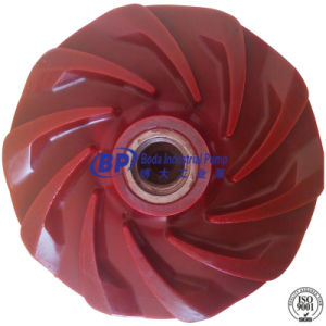 Special Material Polyurethane Slurry Pump Impeller Made in China pictures & photos