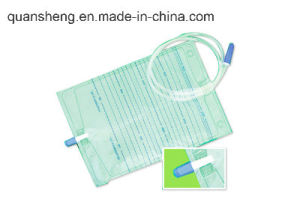 Push Valve Urine Bag