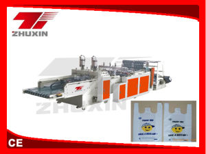 High Speed Automatic T-Shirt Bag Making Machine (CY-430-350X2) pictures & photos