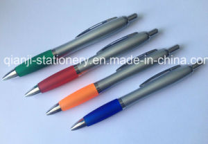 Cheap Promotional Pen with Printing Logo Plastic Printing Pen (P3010B) pictures & photos