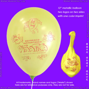 Inflatable Colour Printing Round Pearlized Balloon for Advertisement pictures & photos