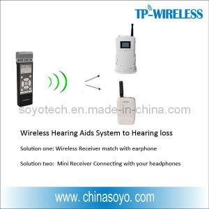 RF Wireless Microphones Solution to Hearing Aids System pictures & photos