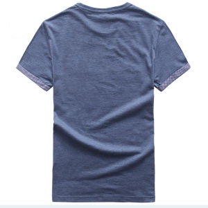 Plain Cotton Wholesale Pre-Shrunk T-Shirt for Men pictures & photos