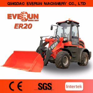 Everun 2017 New Ce Approved Er20 Small Construction Loader with EU 3 Engine pictures & photos
