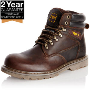Goodyear Work Shoes Construction Work Boots Goodyear Welted Safety Shoes pictures & photos