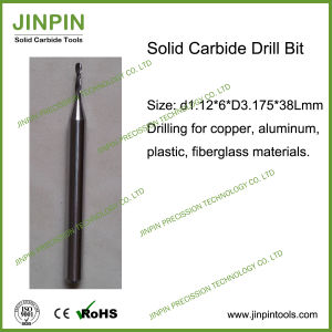 Custom-Made Solid Carbide Drill for Aluminum Material
