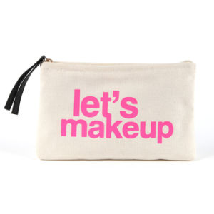 Canvas Promotional Makeup Bag pictures & photos
