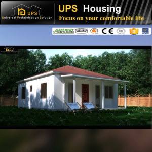 New Technology Three Bedroom Prefabricated Steel Structure Building pictures & photos