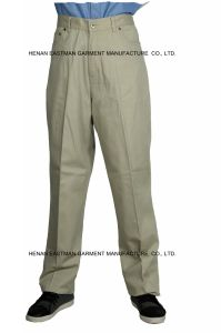 100% Cotton Man Casual Pants Customized Cheap Workwear Pants pictures & photos