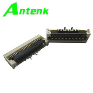 0.5mm FPC Connector 24p, Lvds, Gold Plated with Zif, SMT Type pictures & photos