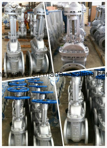 "API600 Cast Steel Stainless Steel Dn100 Class150 Gate Valve (Z41W-150LB-4"") pictures & photos"