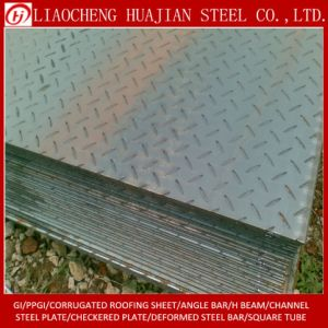 Hot Rolled Carbon Steel Chequered Plate in Stock pictures & photos