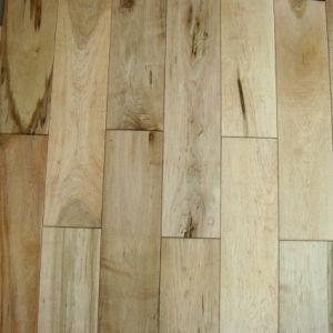 China Rustic Maple Hardwood Flooring