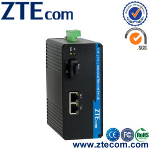 3 Ports 10/100Mbps Full-Duplex Industrial PoE Switch