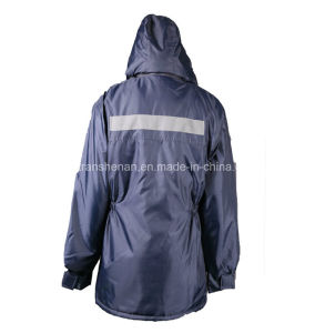 Outer Wear Winter Jacket 100% Polyester Waterproof Oxford pictures & photos