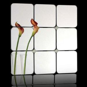 Anti Fog Ultra Clear Beveled Mirror Tiles /Mirror Tile (SINOY) pictures & photos
