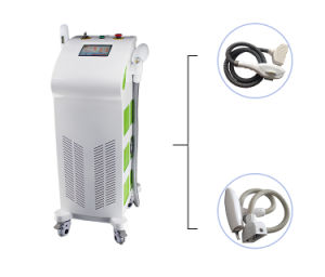 2 Handles Elight YAG Laser Hair Removal Beauty Machine pictures & photos