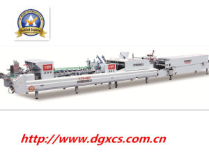 Xcs-980 Packing Paper Box Folder Gluer Machine pictures & photos