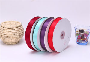 "Solid Color Satin Ribbon 3/8"" X 5 Yard Each Total 50 Yds Per Package"