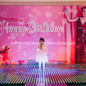 Fantasy 50*50cm DMX Interactive Dance Floor Lighting pictures & photos