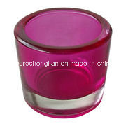 Color-Sprayed Glass Candle Holders (ZT-055) pictures & photos