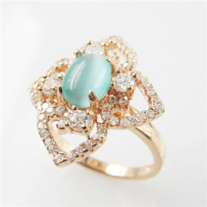 China Saudi Gold Jewelry Cat Eye Stone Rings China Cat Eye Stone
