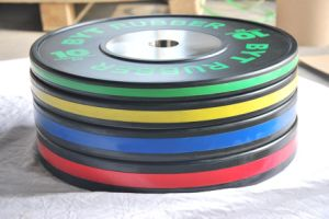 Olympic Plate Training Rubber Bumper Weight Plate pictures & photos