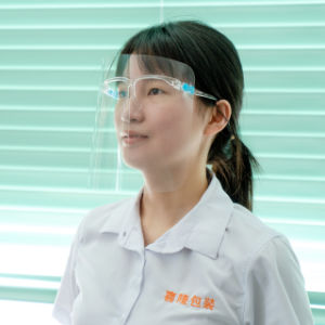 Glass Stents Transparent Plastic Safety Face Shield for Kids