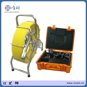 600tvl Sewer Pipe Camera Inspection System CCTV Pipe Inspection Marine Camera System with 8′′ TFT Monitor pictures & photos