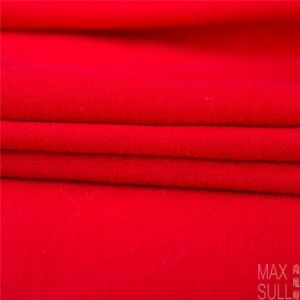 100% Wool Fabric for Autumn Season with Special Handfeel in Red