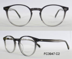 Good Quality Round Shape Acetate Optical Frame for Lady with (Ce) Eyewear pictures & photos