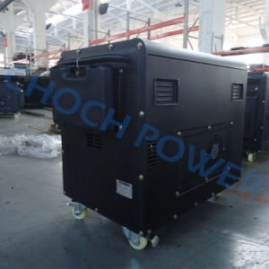 Silent Diesel Generator Set Single Phase Factory Price Dg7500se pictures & photos