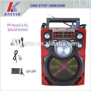 2a4c84ff09a China Solar Rechargeable Radio with Disco Light   MP3 Player Fp-1623uls-Dl  - China Solar Flashlight Dynamo USB