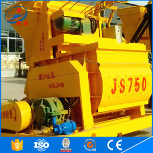 China Js750 Hot Sale Bucket Hoist Electric Type Concrete Mixer pictures & photos
