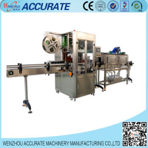 Automatic Bottle Shrink Sleeve Labeling Machine (ABH-150) pictures & photos