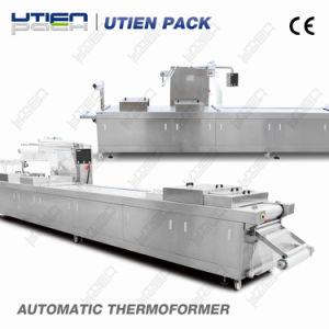 Automatic Thermoforming Vacuum Gas Flush Packing Equipment for Fruit pictures & photos