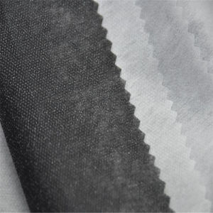 High Quality Apparel Accessories Hot Fusible Non Woven Interlining Factory Price pictures & photos